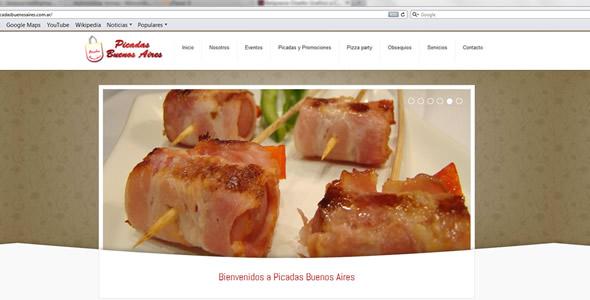 Belgravia DG rediseñó el sitio web de Picadas Buenos Aires.