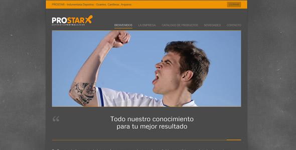 Belgravia DG rediseñó el sitio web de PROSTAR.